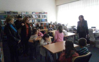Посета на ученици од ОУ Д.А. Габерот с Сопот