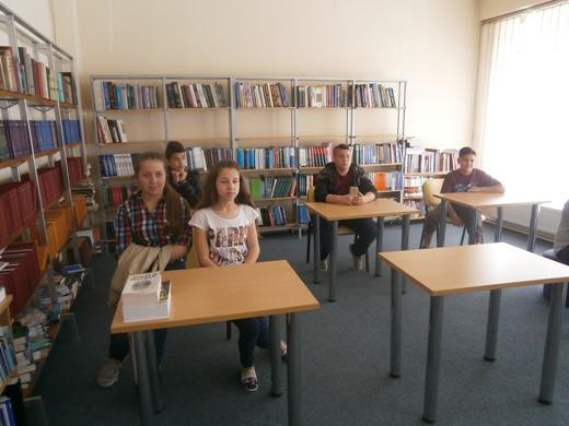 Посета на учениците од ООУ Димката Ангелов Габерот Ваташа