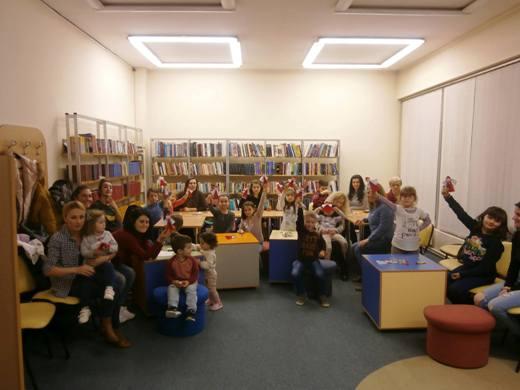 Креативна осмомартовска работилница за родители и деца