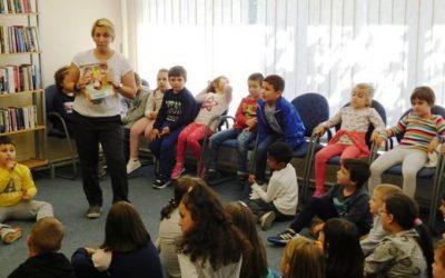 Посета на библиотеката Феткин на нови групи ученици по повод – Неделата на детето