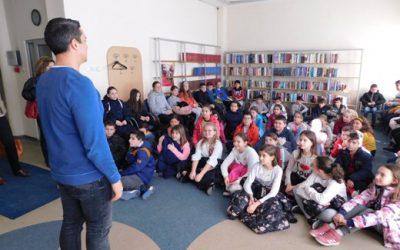 Практичен час: Влијанието на библиотеката во општествениот развој